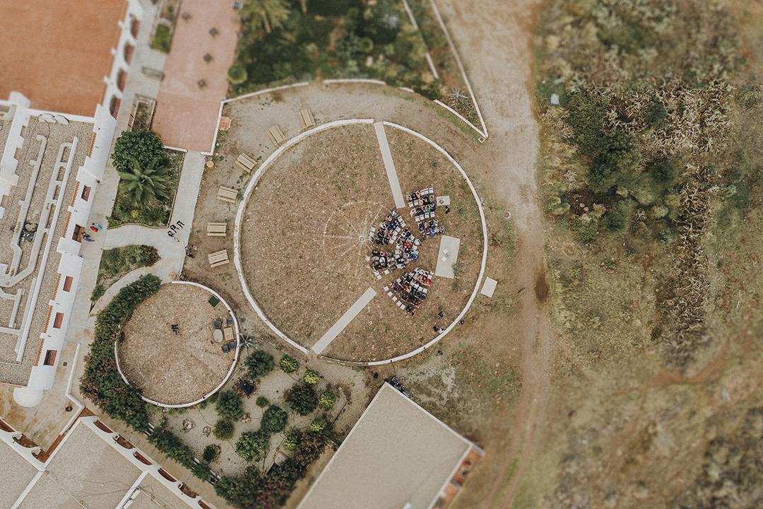 Fotografía de drone, Una fiesta con mucho amor