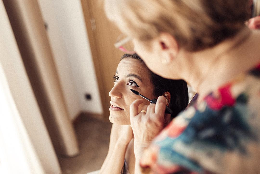 Maquillaje de la Novia, Una fiesta con mucho amor
